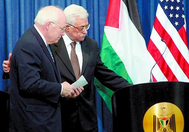 El Vicepresidente de EE UU se reúne con israelíes y palestinos