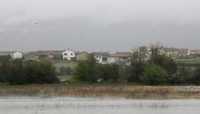 Estella, Huarte, Tudela y Villava están en situación de prealerta por la crecida de los ríos