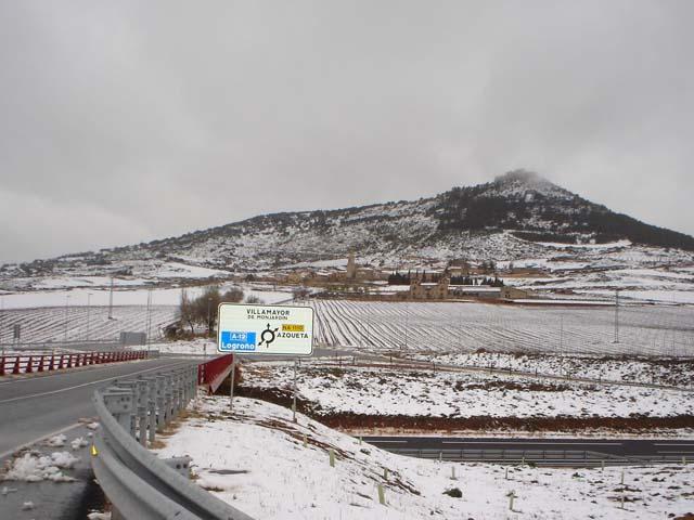La red principal de las carreteras navarras permanece abierta