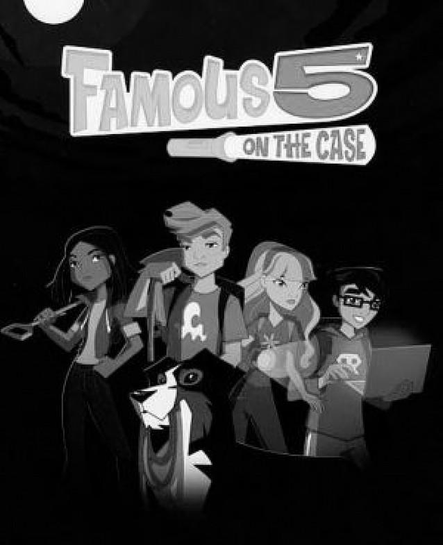 Los Cinco reviven en dibujos