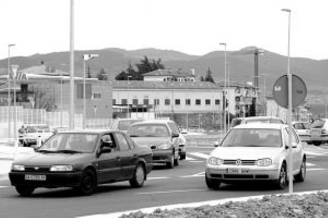 La policía de Pamplona constata el elevado uso del nuevo vial de Mendillorri al Ensanche