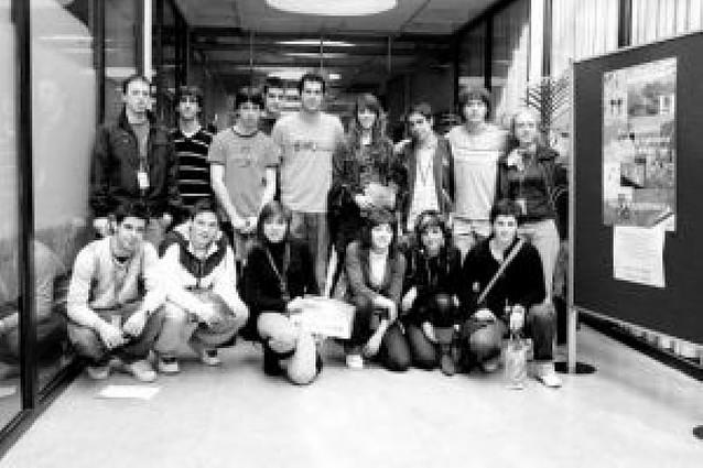 Setenta alumnos de Secundaria toman parte en la jornada agraria de la UPNA