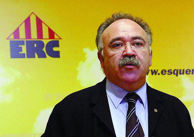 Carod asume la debacle electoral y anuncia que no se presentará a la reelección como presidente de ERC