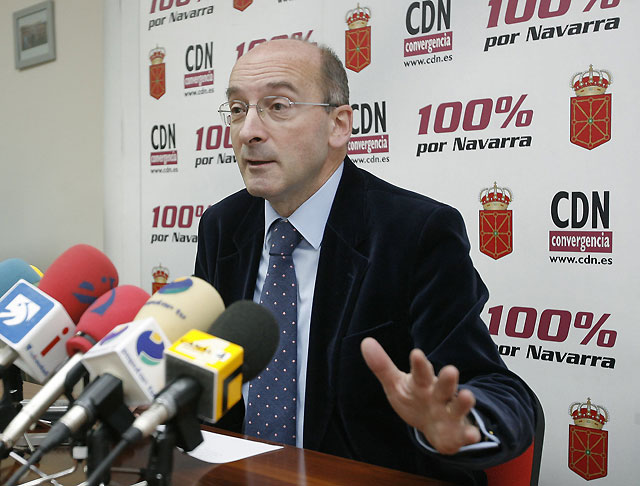 """Burguete, único candidato a la presidencia CDN con una lista que busca """"el relevo generacional"""""""