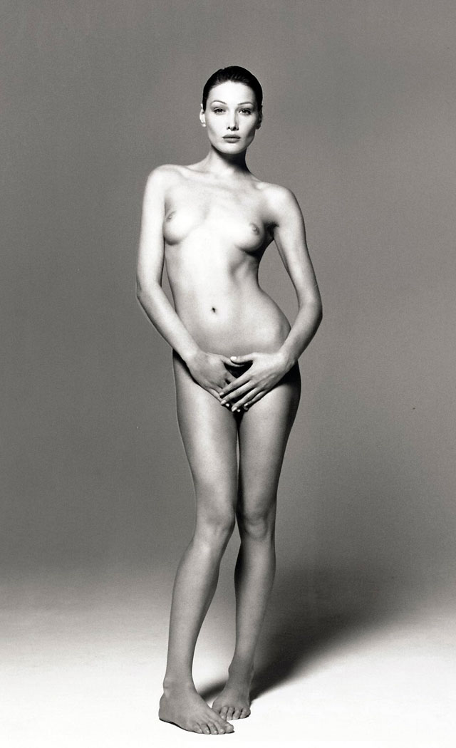 Christie's subastará en Nueva York un retrato de Carla Bruni desnuda