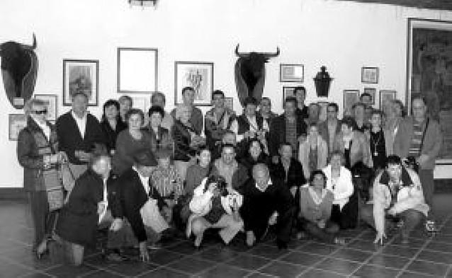 El Club Taurino de Peralta visita cuatro ganaderías lusas