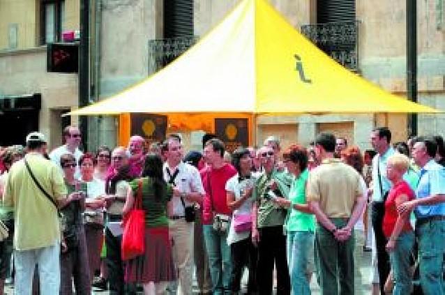 El mal tiempo deja sólo una ocupación del 50% en los hoteles de Pamplona