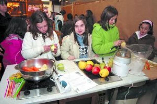 Cocina sana y divertida para los más pequeños