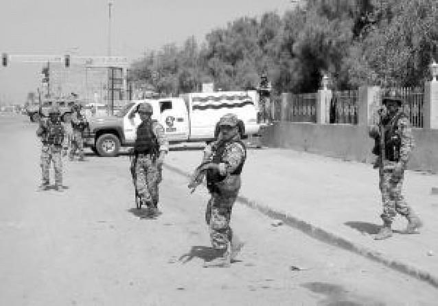Guerra en las calles de Basora entre el Ejército iraquí y las milicias de Al Sadr