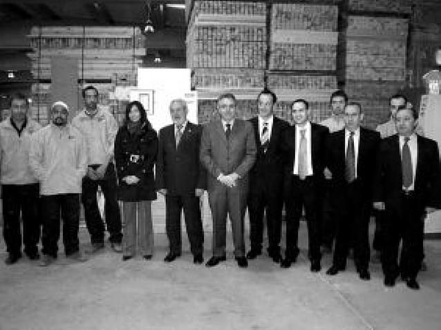 Maderas de Navarra inicia su actividad en Viana con una plantilla de 25 personas