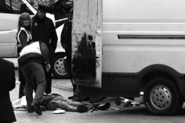 Muere un chatarrero tras la explosión de un artefacto en Madrid