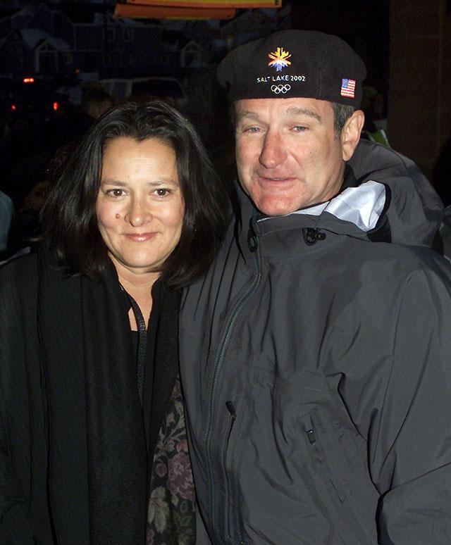 La esposa del actor Robin Williams solicita el divorcio tras 18 años de matrimonio