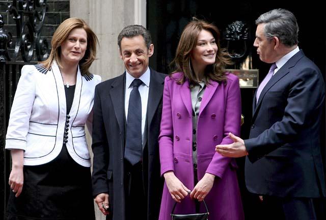 """Brown y Sarkozy sellan la """"entente formidable"""" para liderar en Europa los desafíos de la nueva era"""