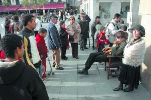 Las calles de Tudela, escenario teatral