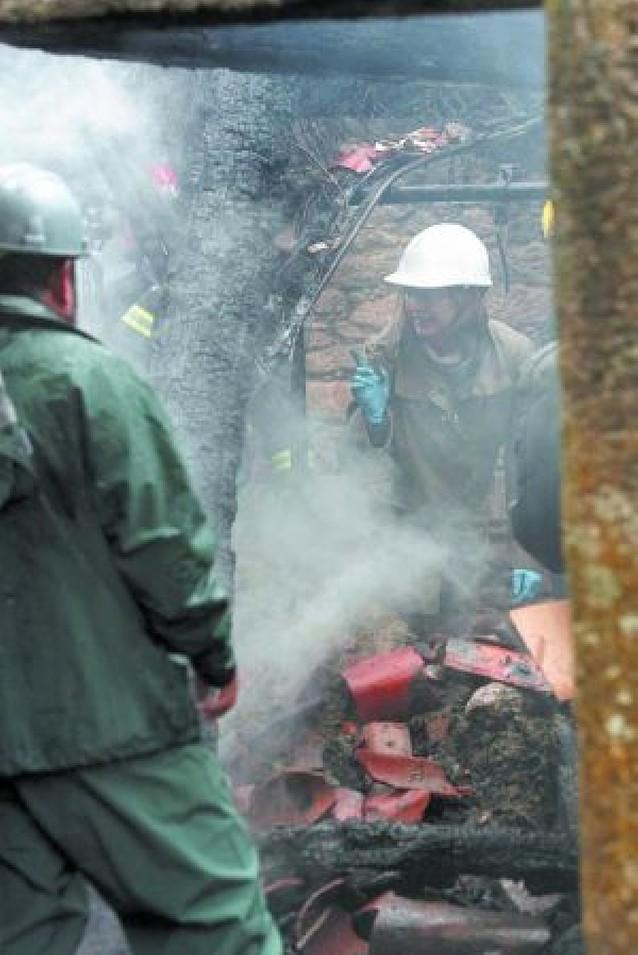Un hombre y sus dos hijos mueren al incendiarse su casa en La Coruña