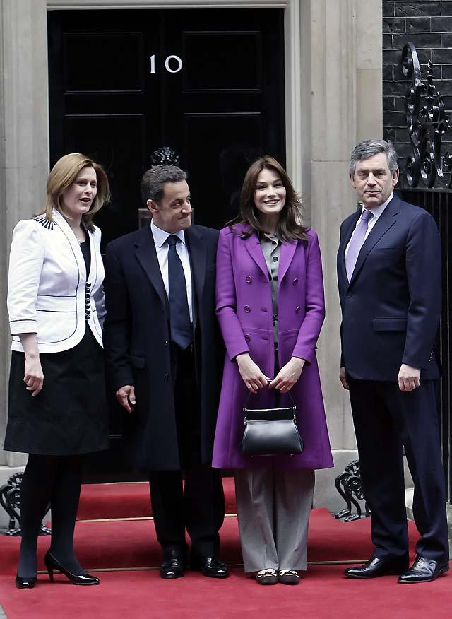 Brown y Sarkozy inauguran una nueva era de cooperación franco-británica