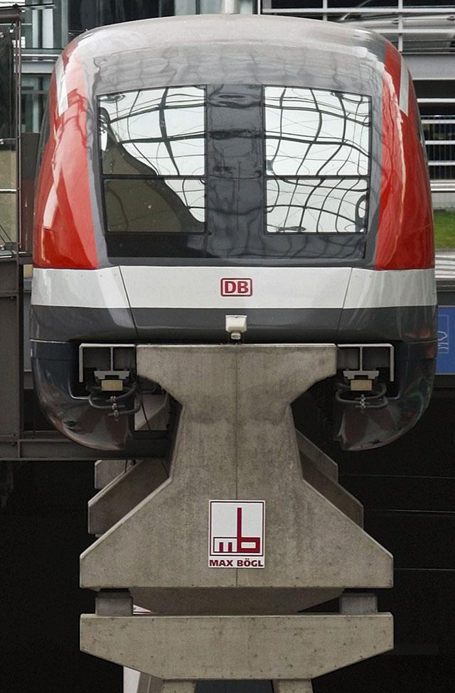 Alemania suspende el tren Transrápido de Múnich