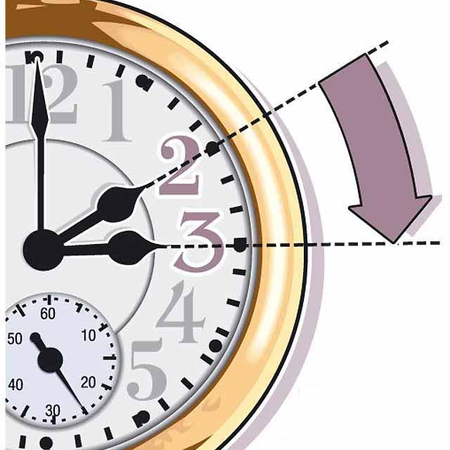 Esta noche se adelanta el reloj una hora