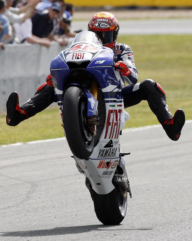 Jorge Lorenzo hace historia y consigue su segunda 'pole' consecutiva en MotoGP