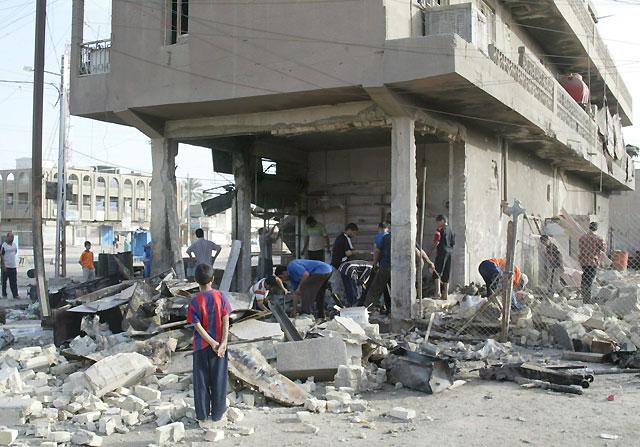 Al menos 21 milicianos muertos elevan a 80 las víctimas de hoy tras los últimos enfrentamientos en Irak