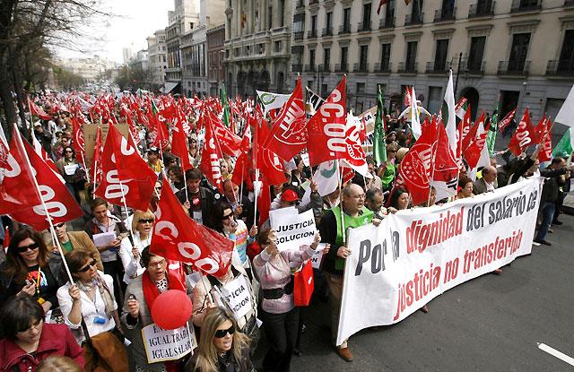 Fracasan las negociaciones entre sindicatos y el Ministerio de Justicia y continúan las protestas