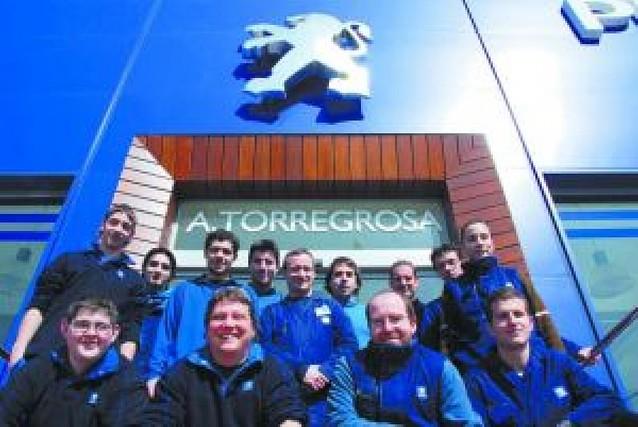 Automóviles Torregrosa obtiene los tres premios postventa de Peugeot