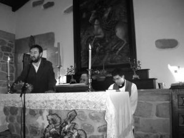 Reinaugurada la ermita de Santiago en Urrasun