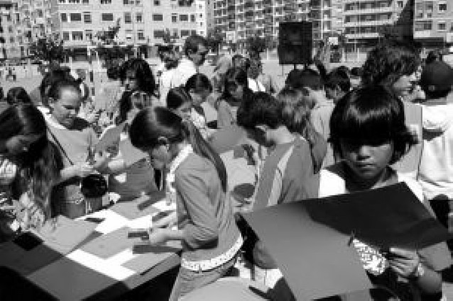 Los alumnos del colegio público José María Huarte podrán llevar uniforme