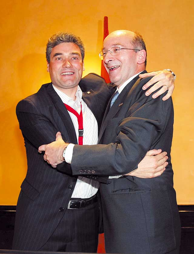 Burguete es elegido presidente de CDN con el voto del 96% del congreso