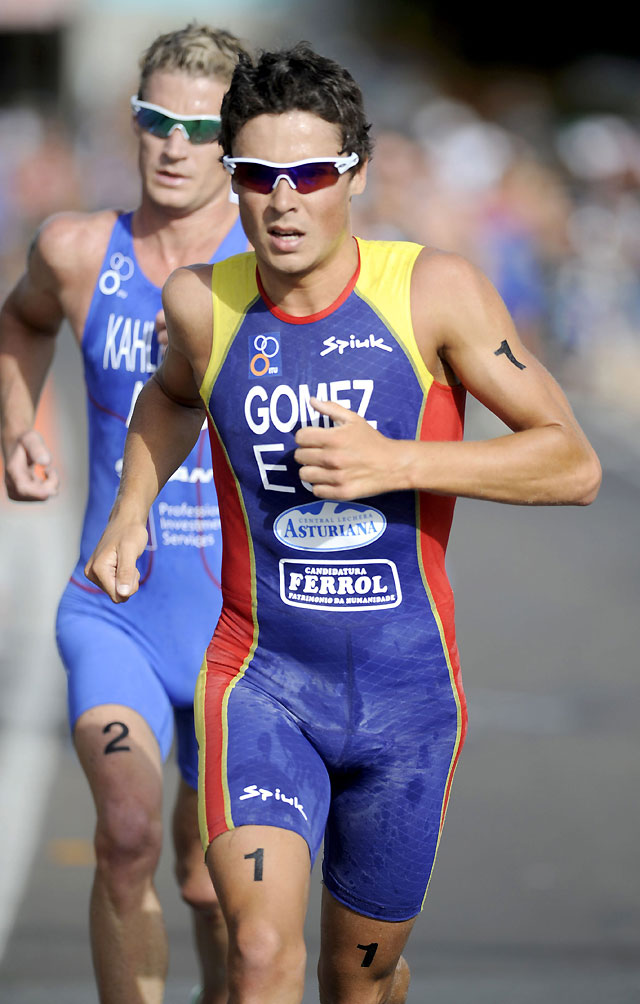 El español Javier Gómez Noya se impone en el triatlón de Mooloolaba en Australia