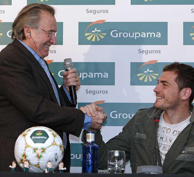 A Casillas le preocupa el difícil calendario que le resta al Madrid