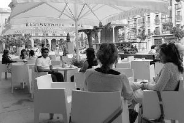 Tafalla regulará a partir de 2009 la colocación de las terrazas hosteleras