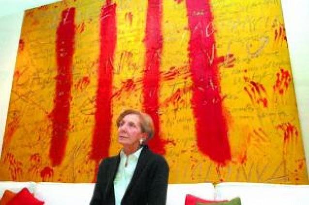 María Josefa Huarte dona su colección de arte a la Universidad de Navarra