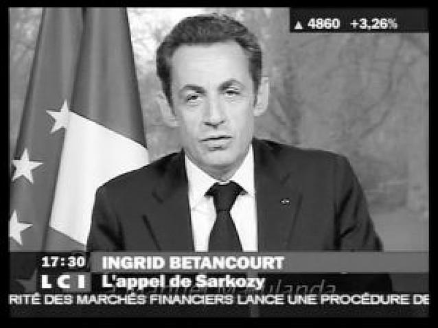 Sarkozy y Uribe colaboran para la liberación de Ingrid Betancourt y otros rehenes