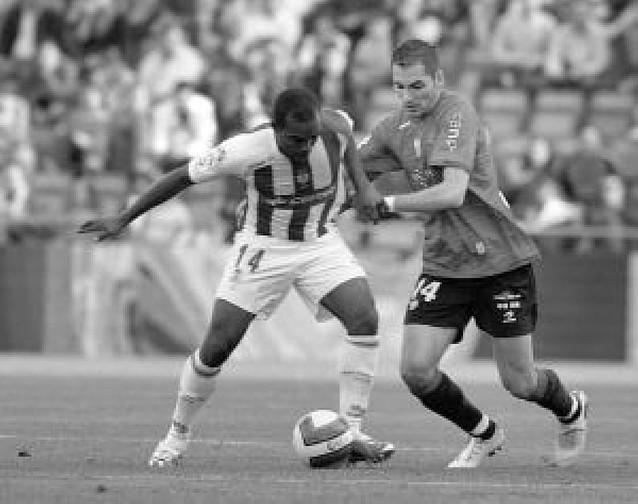 El Recre recurre para que jueguen Sinama y Bouzón ante Osasuna