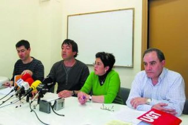 La plantilla de Cunbur de Cascante se manifestará contra 41 despidos