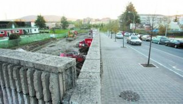 Oberena pierde 1.200 m2 con la ampliación de los viales de Arrosadia