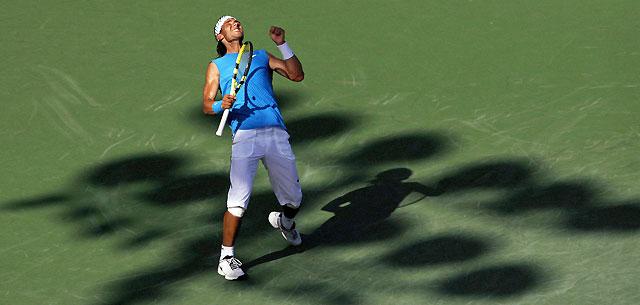 Nadal doblega a Blake en tres sets para acceder a las semifinales en las que se medirá a Berdych