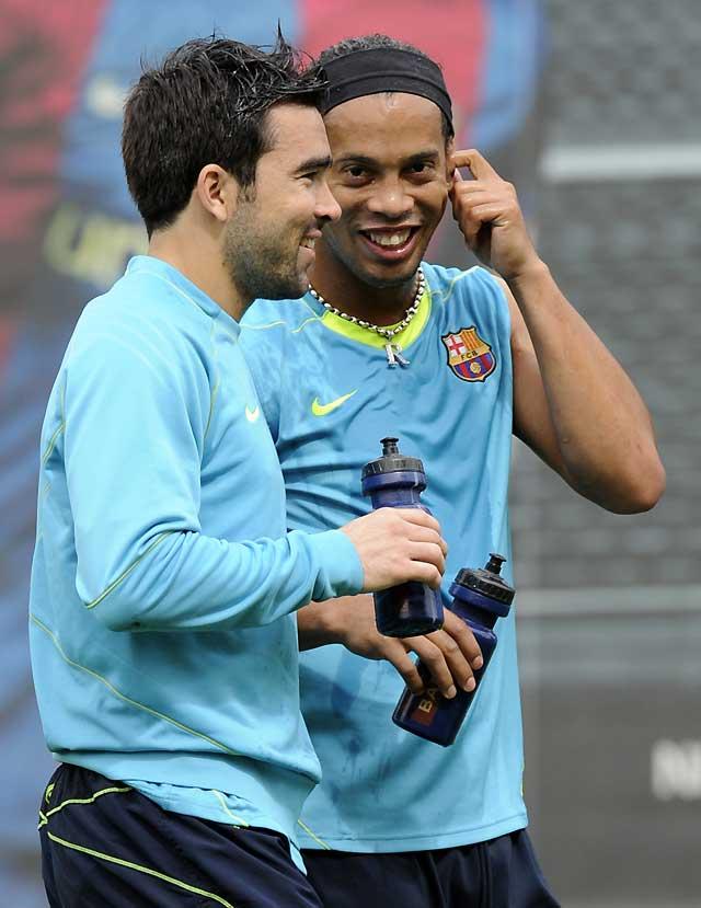 El Barcelona se reunirá con el hermano de Ronaldinho para tratar de estabilizar el caso