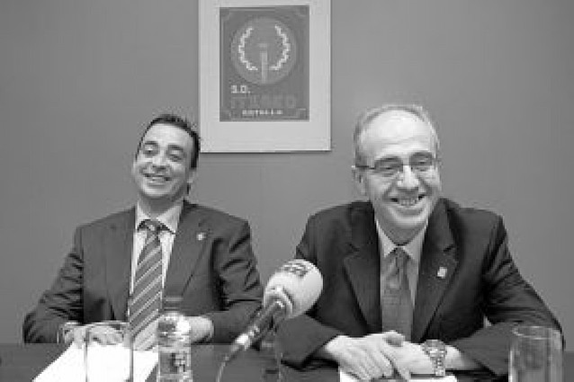Raúl Urriza, presidente honorífico del Itxako
