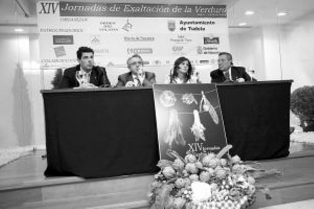 Tudela presenta las Jornadas de la Verdura y apuesta porque sean un referente nacional