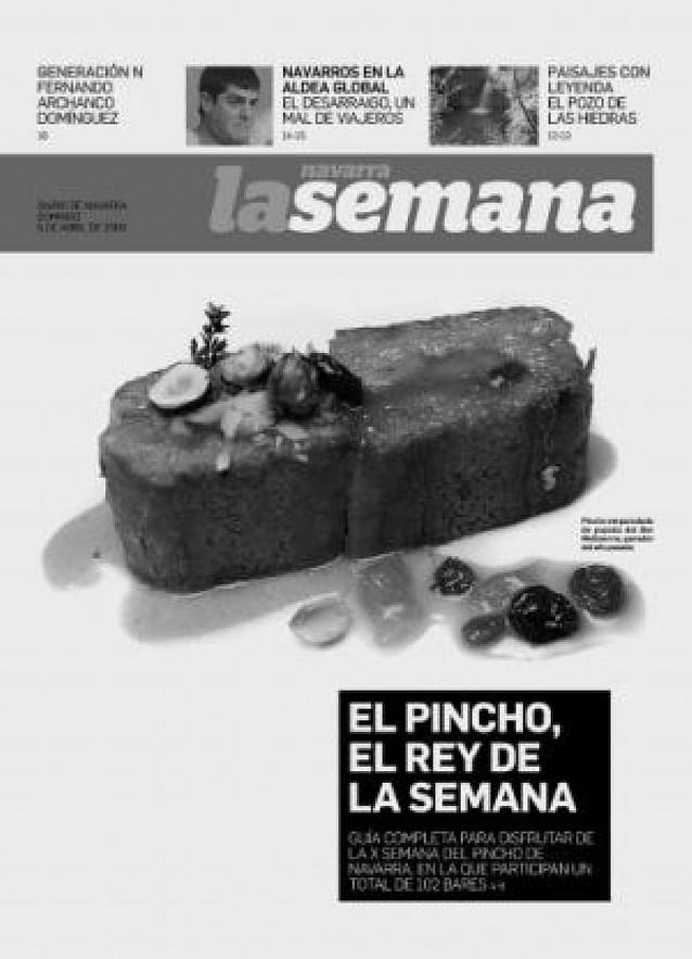 Diario de Navarra ofrece mañana con La Semana una guía detallada de los pinchos