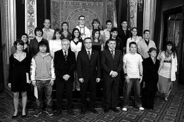 Premiados los veinte alumnos navarros de FP con mejor expediente académico