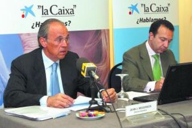 La Caixa alcanzó un volumen de negocio en Navarra en 2007 de 2.382 millones, un 17% más