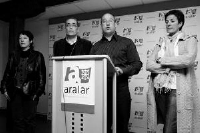 Aralar advierte que Ramírez (EA) no cuenta con sus 5 votos para la CAN