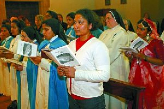 Las recoletas de Estella construyen el primer convento de la orden en Asia