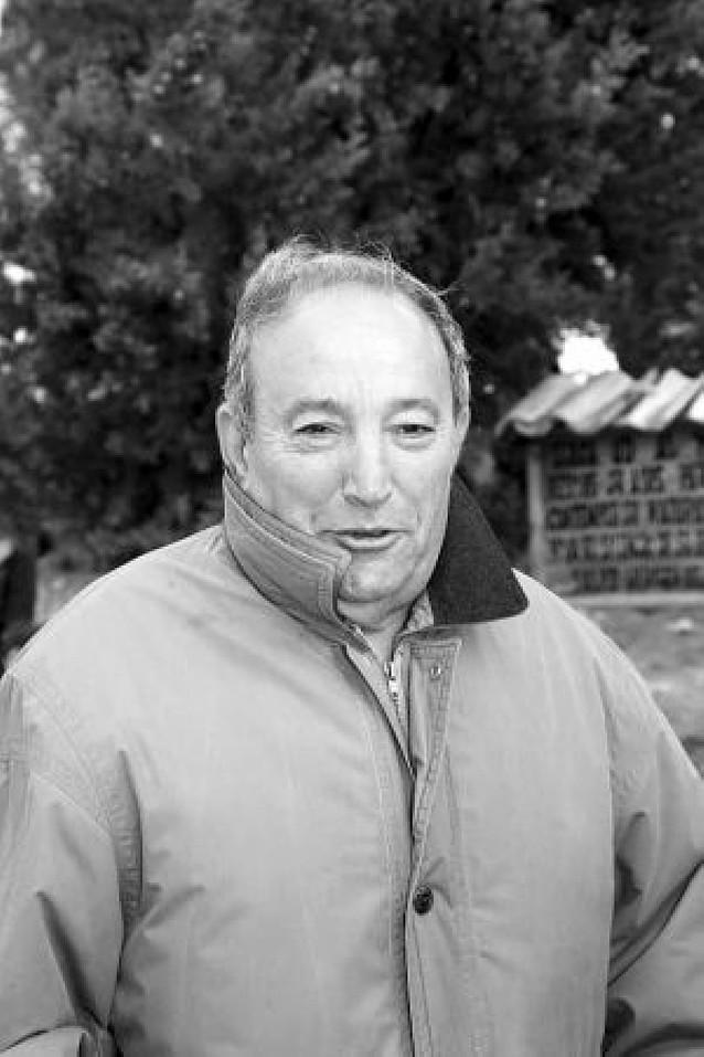 Javier Urmeneta, presidente del club de los jubilados
