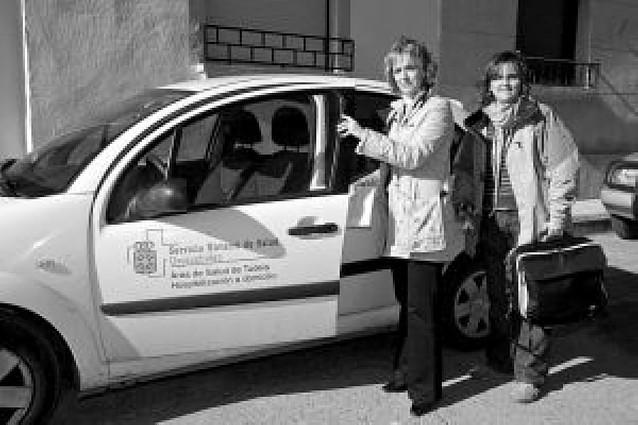 El Reina Sofía amplía de 10 a 25 camas la unidad de hospitalización a domicilio, pionera en Navarra