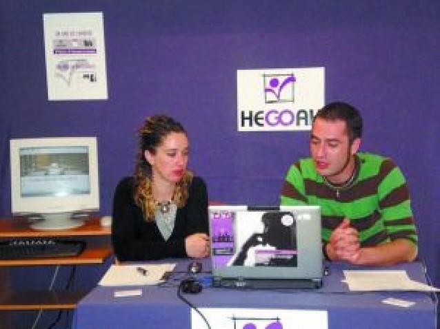 42.000 usuarios en acciones de Hegoak para prevenir los riesgos con drogas