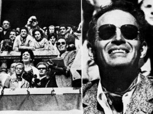 Charlton Heston pasó unas horas en Pamplona en los Sanfermines de 1962
